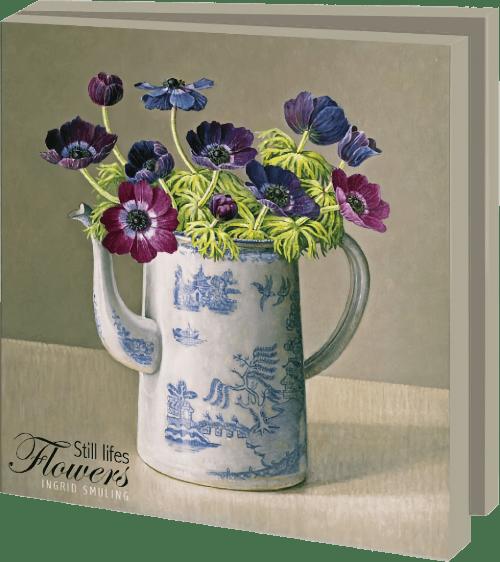 Kaartenmapje - Still lifes Flowers, Ingrid Smuling