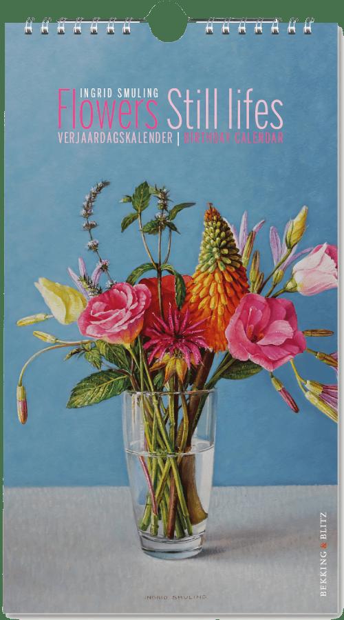 Verjaardagskalender - Flowers Still lifes, Ingrid Smuling